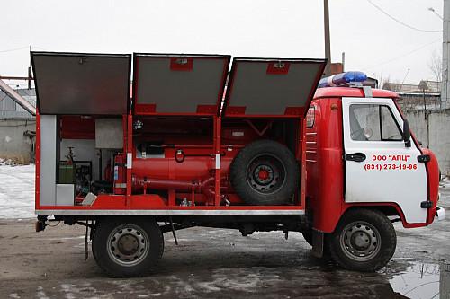 Пожарная автоцистерна УАЗ Караганда