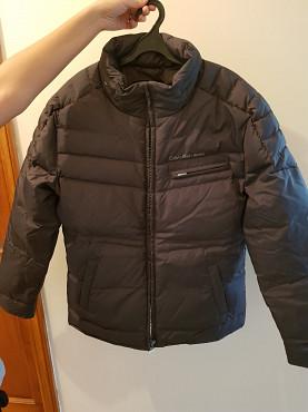 Куртка зимняя с капюшоном, Calvin Klein Jeans (оригинал), размер 48-50 Алматы