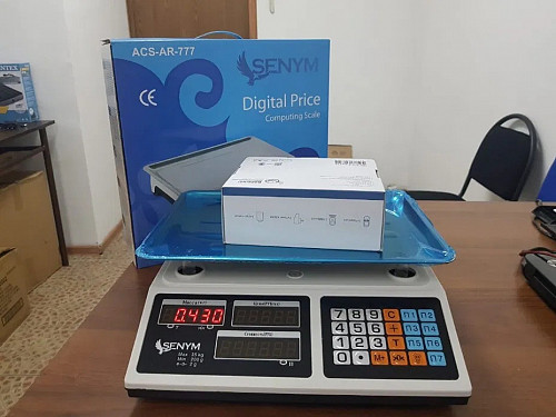 Весы электронные 35 кг. BEKALIKE ACS AR777 Алматы