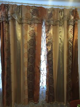 Срочно продам комплект из штор с тюлью Алматы