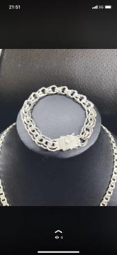 Цепочка серебряная цепь серебро Алматы
