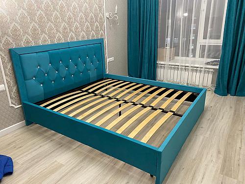 КРОВАТИ!!!Продажа 2х спальных кроватей по низкой цене (Каретная стяжка) Нур-Султан