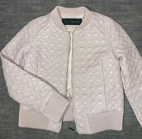 Продам кожаную куртку розовую Алматы