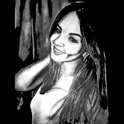 Заказать портрет с фотографии карандашом на ватмане в Усть-Каменогорске Павлодар