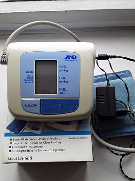 Продаем электронный тонометр AND UA-668 Про-во Япония. Усть-Каменогорск
