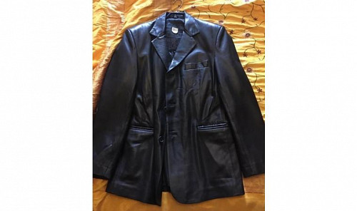 Кожаный пиджак Алматы