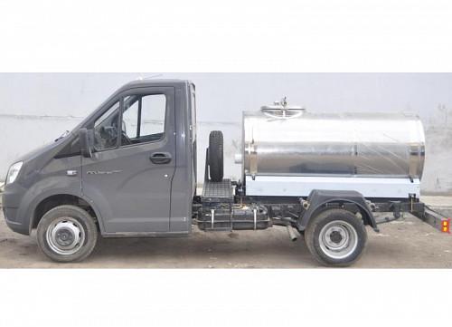 Молоковоз ГАЗ цистерна для перевозки пищевых жидкостей Караганда
