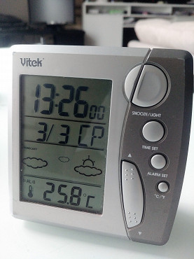 Часы настольные многофункц. Алматы