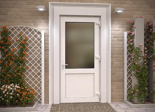 Двери металлопластиковые Караганда