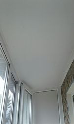 Обшивка потолка на балконе Караганда