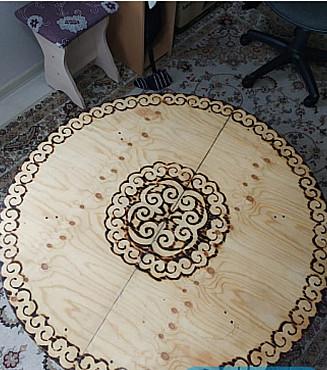 Сдаем в аренду(продаем) компактный стол размером 1, 2 метра Нур-Султан