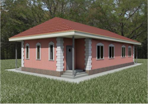 Дом из теплобетонпанели толщиной от 20 см с утеплением Алматы