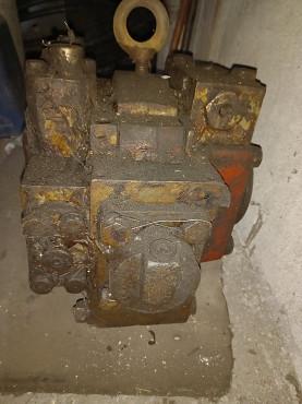 Гидродвигатель для горно шахтного оборудования (для привода тяговых звезд) НП-120 Караганда