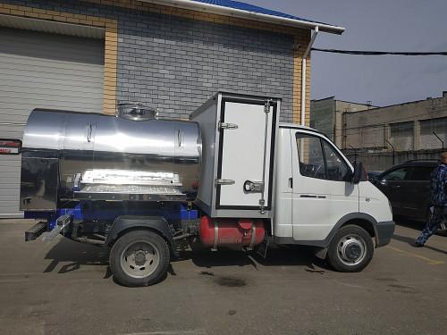 Молоковоз ГАЗель с фургоном Актобе