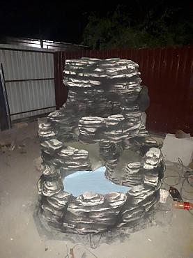 Водопавды , фонтаны Алматы