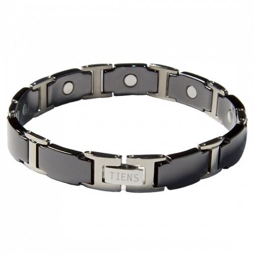 """Титановый магнитный браслет """"Тяньши"""" Black (удлиненная модель) Алматы"""
