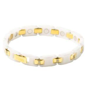 """Титановый магнитный браслет """"Тяньши"""" White (удлиненная модель) Алматы"""