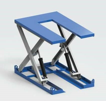 Гидравлический U-образный подъемый стол Алмалы