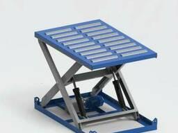 Гидравлический подъемный стол с рольгангом Алмалы