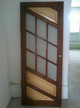 Межкомнатная дверь из натурального дерева Алматы