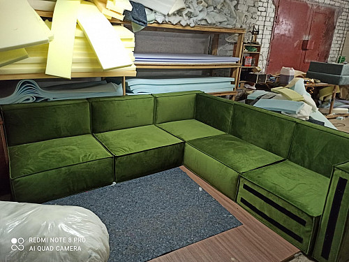 Перетяжка-Реставрация мягкой мебели Семей