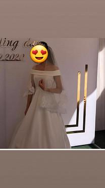 срочно продам свадебное платье Алматы