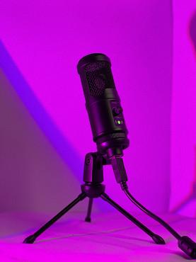 Студийный конденсаторный микрофон Алматы