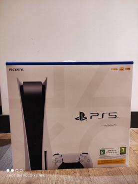 Playstation 5 с дисководом Алматы