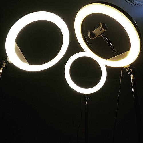 Кольцевая Лампа 33 диаметра + штатив 2 метра Алматы