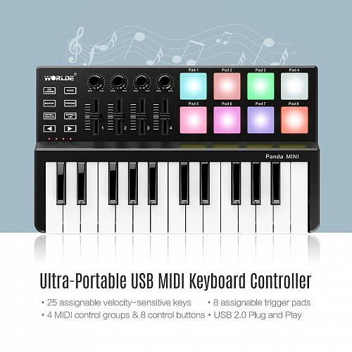 MIDI keyboard Panda Mini WORDE Алматы