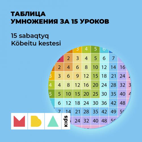 Курс по Таблице умножений Алматы
