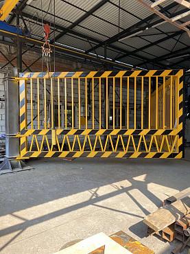 Ворота противотаранные, ударопрочные (автомобильные, железнодорожные в ассортименте) Нур-Султан