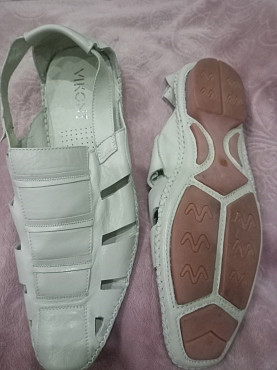 сандали-туфли 44 кожа Алматы