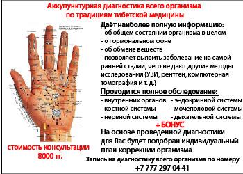 Check-up всего организма для взрослых Алматы
