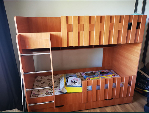 двухэтажная кровать Алматы
