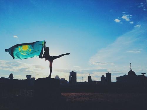 Флаг казакстан рк Алматы