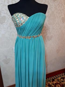 Нежное платье в пол Нур-Султан