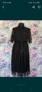 Черное платье 2 в 1 Нур-Султан