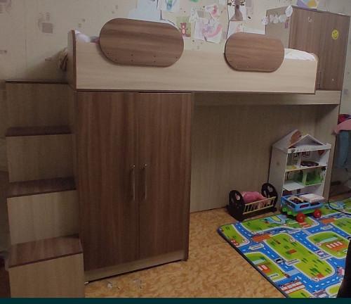 Продам двухъярусную подростковую кровать Усть-Каменогорск