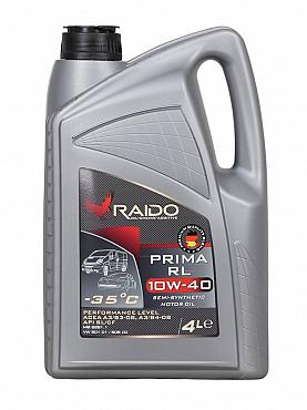 RAIDO Prima RL 10W-40 - полсинтетическое моторное масло Алматы