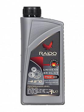 RAIDO Unigear SR 75W-90 GL 4/5 - Полусинтетическое универсальное трансмиссионное масло Алматы