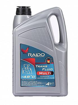 RAIDO Trans Fluid MULTI - Синтетическая ATF Dexron VI Алматы