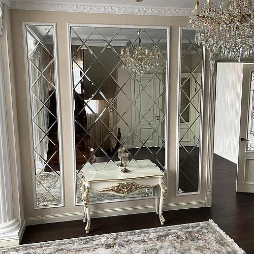 Зеркальное панно, ванные зеркала Алматы