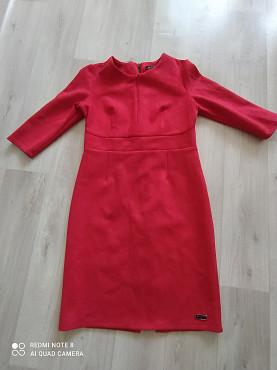 платье красное женское размер 48 Темиртау