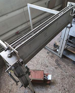 Пневматический станок для загиба сетки 0, 8-1, 2 мм L=800 мм Алматы