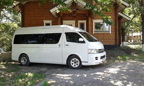 Услуги микроавтобуса Талгар