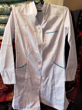 Продаю новый медицинский халат с чепчиком Караганда
