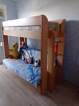 детская двухэтажная кровать Актау