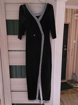 платье велюр турецкое Шымкент