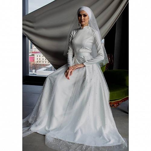 Свадебное платье на никах Нур-Султан